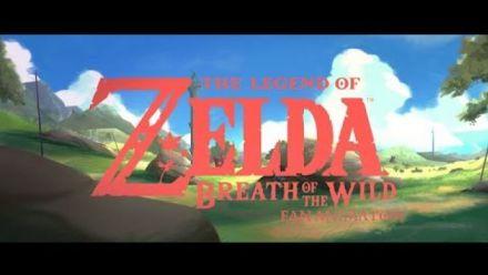 Vidéo : Breath of the Wild : Fan Animation