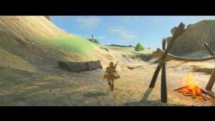 Vid�o : Zelda Breath of the Wild en 21:9, ça donne ça