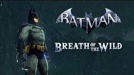 Vid�o : Zelda Breath of the Wild : Batman mod