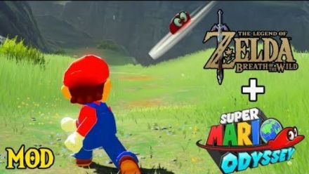Vid�o : Zelda Breath of the Wild : Mod Mario et Cappy