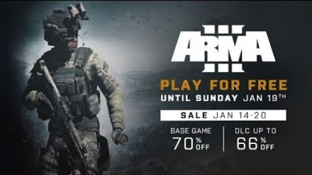 Arma III : Play for Free du 14 au 20 janvier