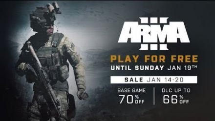 Vidéo : Arma III : Play for Free du 14 au 20 janvier