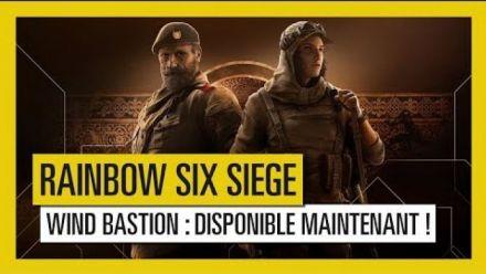 Vidéo : Rainbow Six Siege - L'Opération Wind Bastion est  disponible