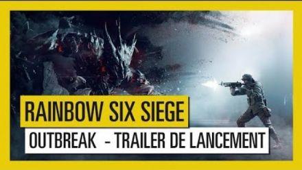 Vid�o : Rainbow Six Siege : Trailer de lancement Outbreak