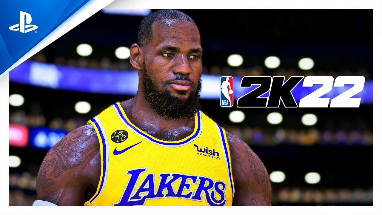NBA 2K22 montre du gameplay transcendantal et intuitif en 4K sur PS5