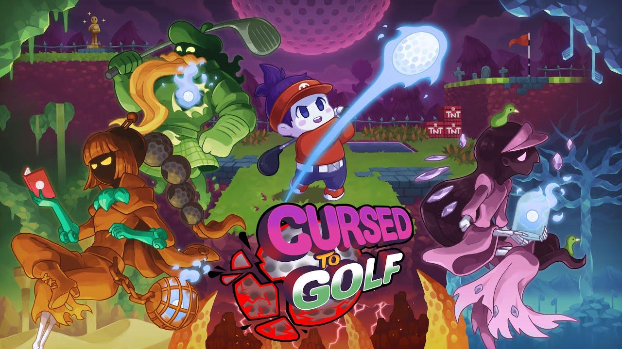 Cursed to Golf : Un jeu de plateforme en forme de rogue-lite s'annonce sur Switch et PC