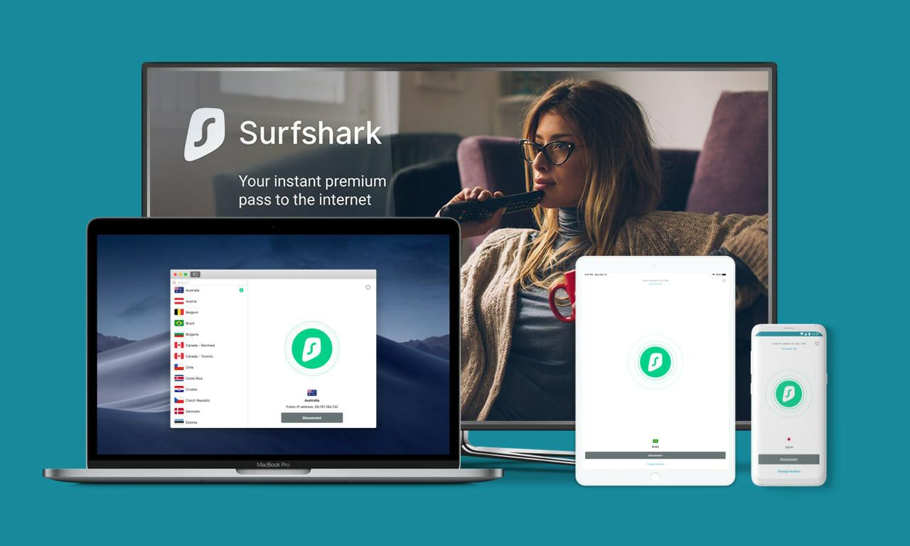 Surfshark Logo VPN
