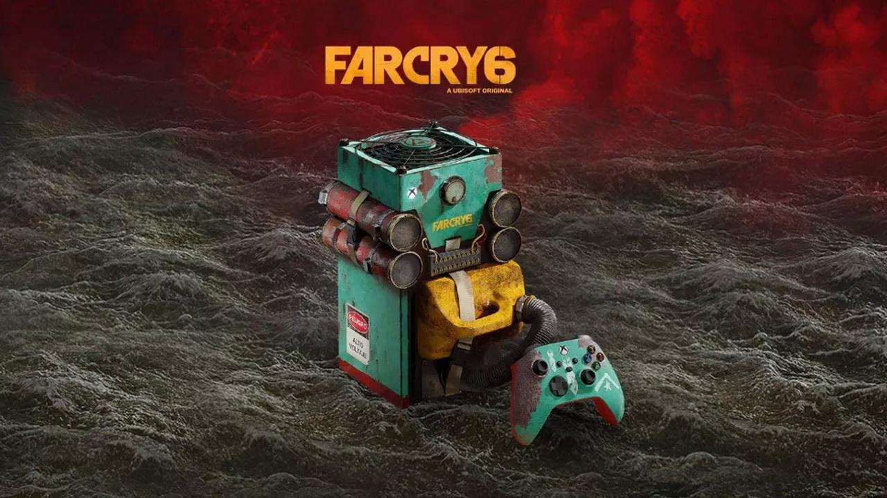 Microsoft dévoile une Xbox Series X Far Cry 6 surprenante, mais elle n'est pas à vendre