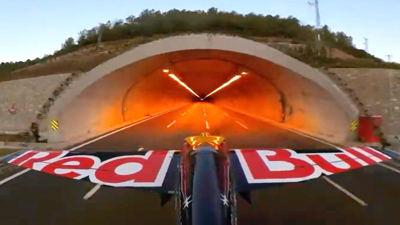 L'image du jour : Quand Red Bull s'inspire de GTA V pour une cascade à très haut risque