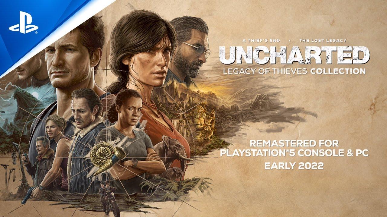PlayStation Showcase : Uncharted Legacy of Thieves Collection annoncé sur PS5... et PC