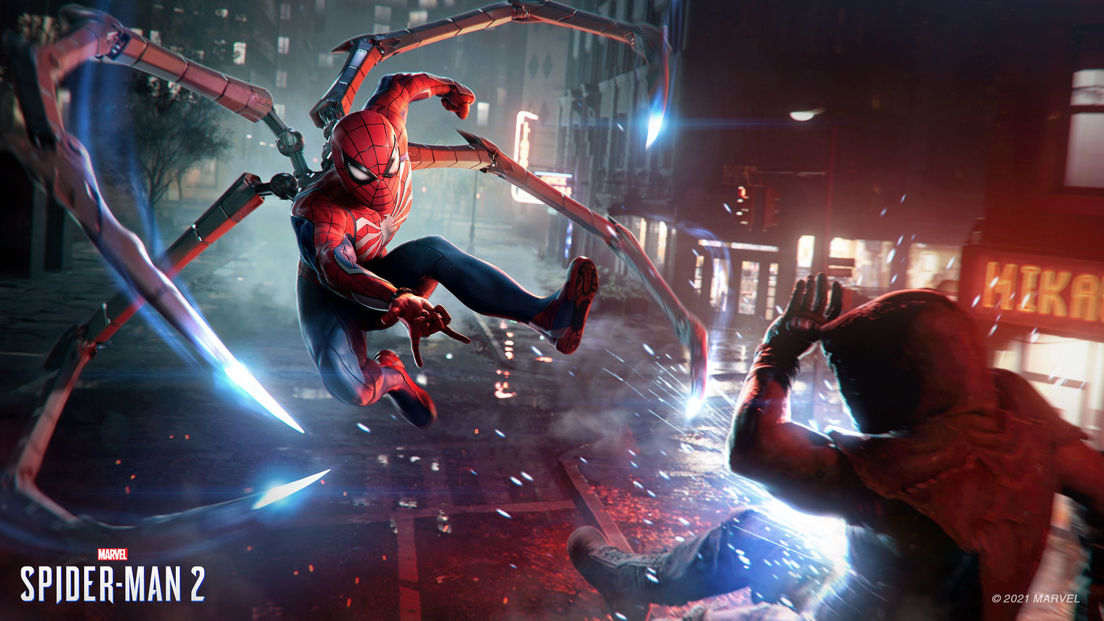PlayStation Showcase : Marvel's Spider-Man 2 dévoilé, crénom de (Ve)nom
