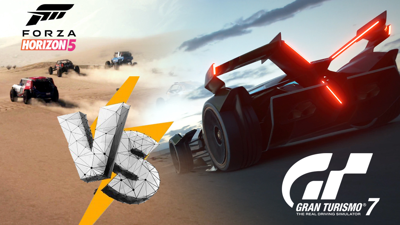 L'image du jour : Gran Turismo 7 vs Forza Horizon 5, comparatif en vidéo