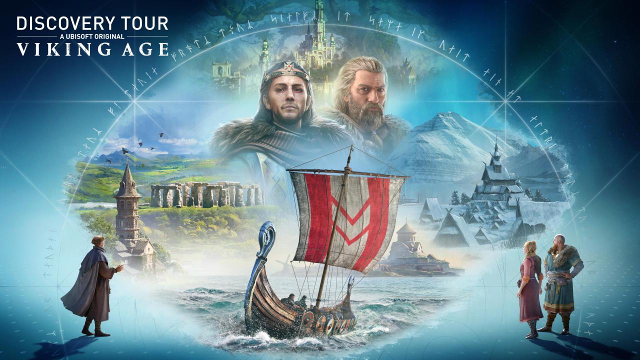 Assassin's Creed Valhalla : Le mode Discovery Tour arrive le mois prochain