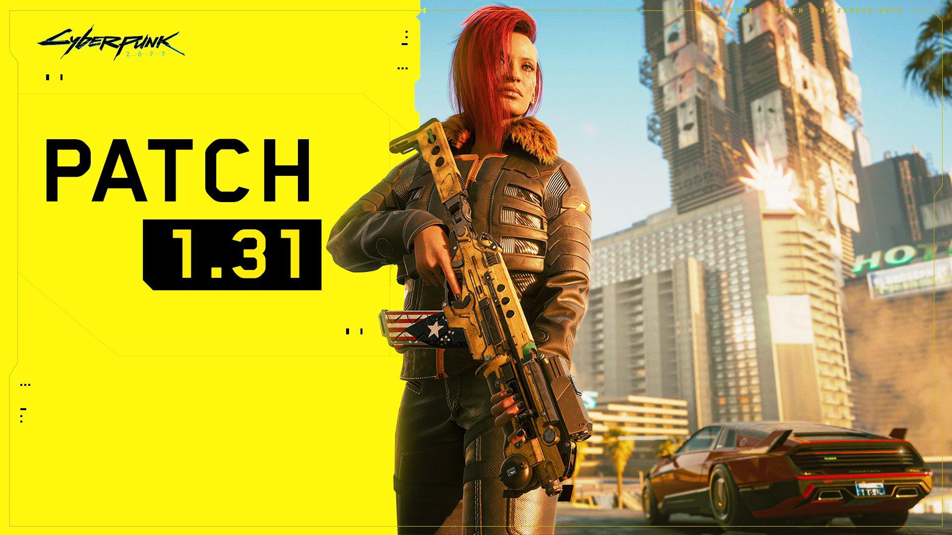 Cyberpunk 2077 : Le patch 1.31 disponible, tous les changements listés