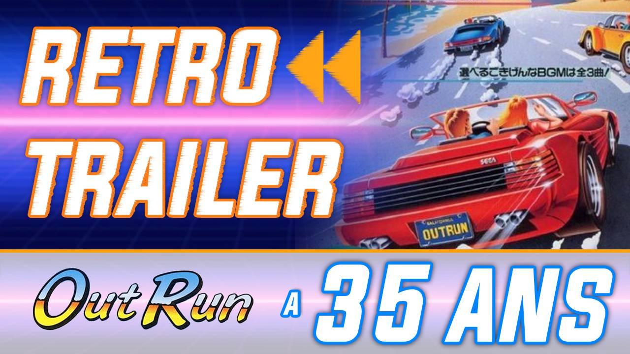 Rétro Trailer : Outrun a 35 ans ! La borne et l'OST mythiques + l'évolution 1986-2009