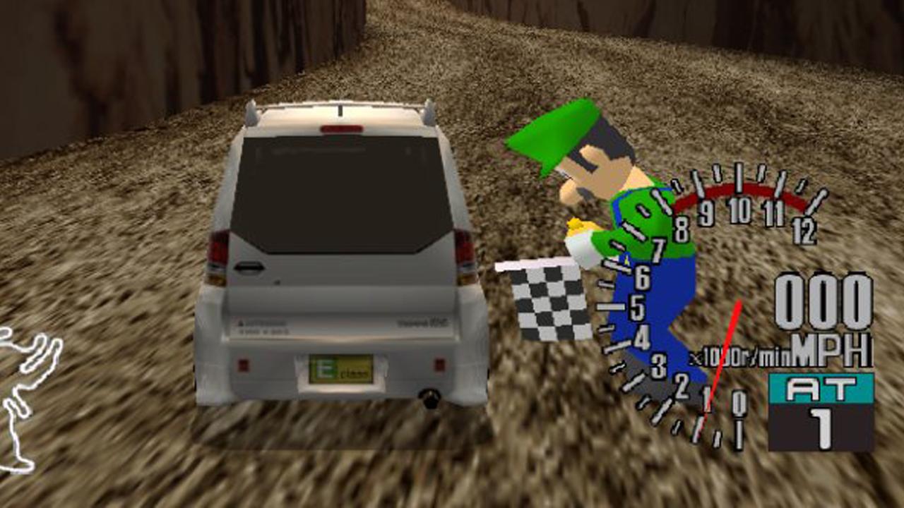 Luigi découvert dans le prototype d'un jeu SEGA sur... Dreamcast, les images