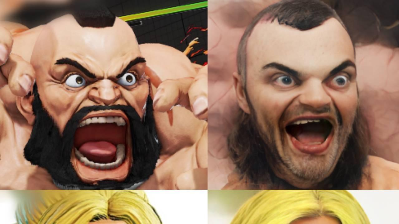 """L'image du jour : Les persos de Street Fighter en version """"réaliste"""" par l'IA de Google"""