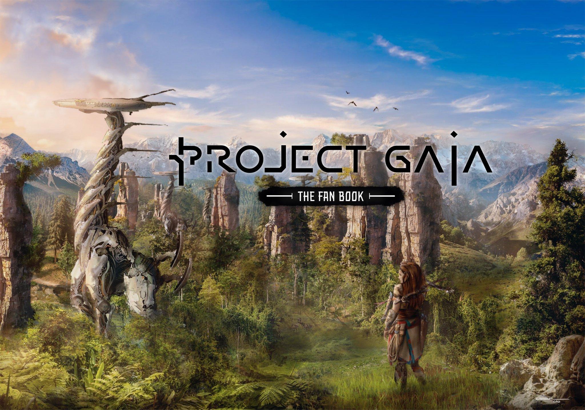 Project Gaia : Le livre par et pour les fans de Horizon lance son Kickstarter