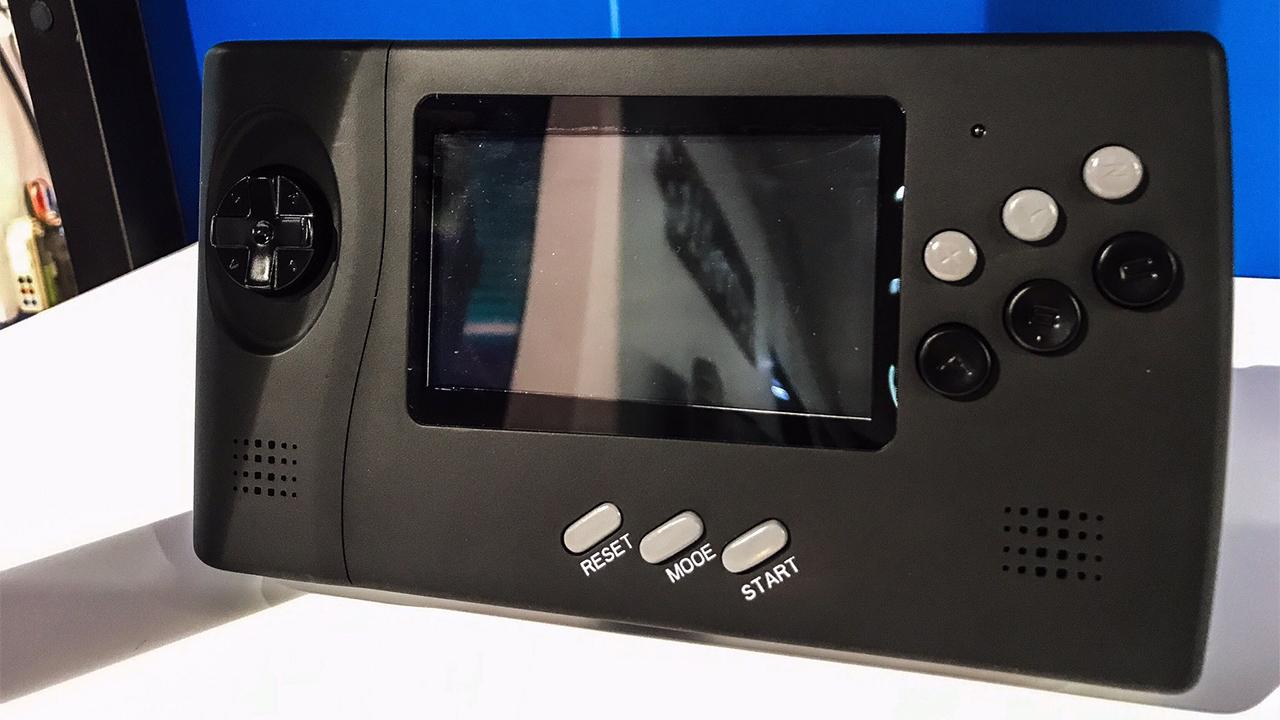 SEGA Nomad : Retro-Bit donne des nouvelles de la Mega Drive portable avec sortie HDMI