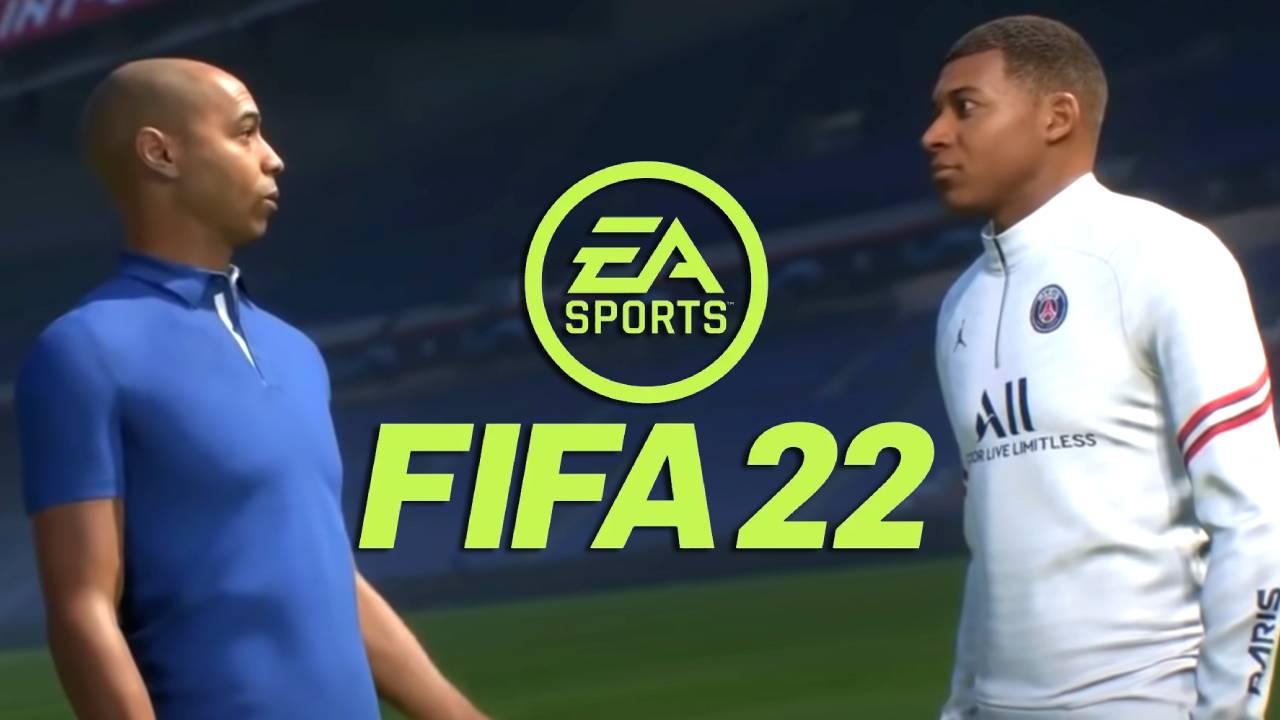 """L'image du jour : Les voix FR """"étranges"""" de Mbappé et Thierry Henry dans FIFA 22"""