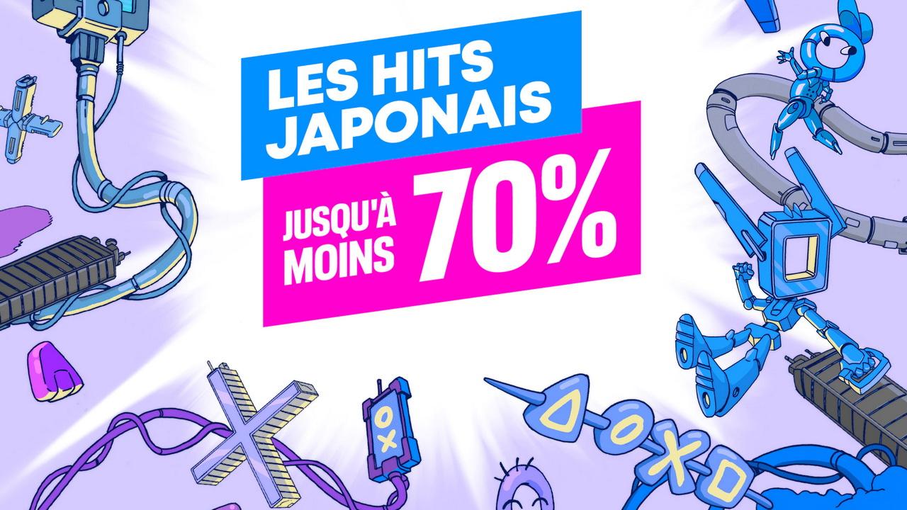 PlayStation Store : Nouvelle promo sur Les Hits Japonais PS4 et PS5
