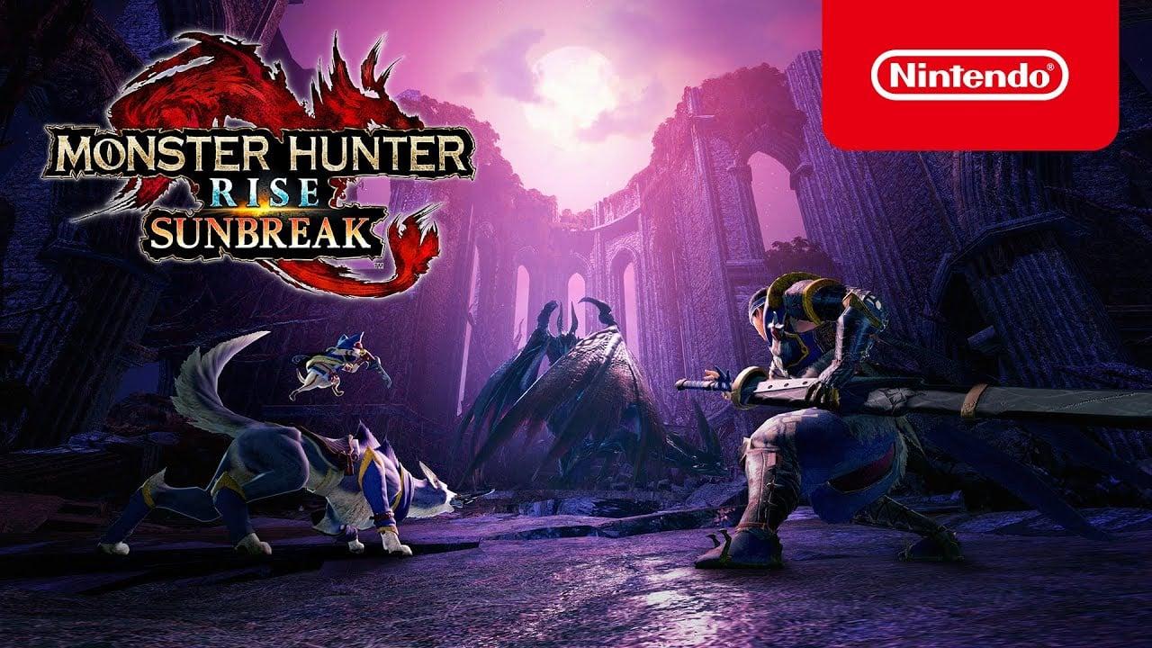 Nintendo Direct : L'extension Monster Hunter Rise Sunbreak se montre et arrive en 2022