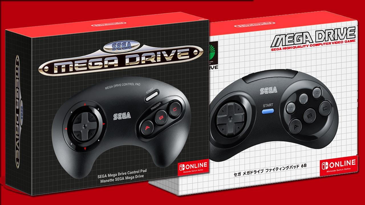 Nintendo Switch : Le Japon aura une meilleure manette Mega Drive