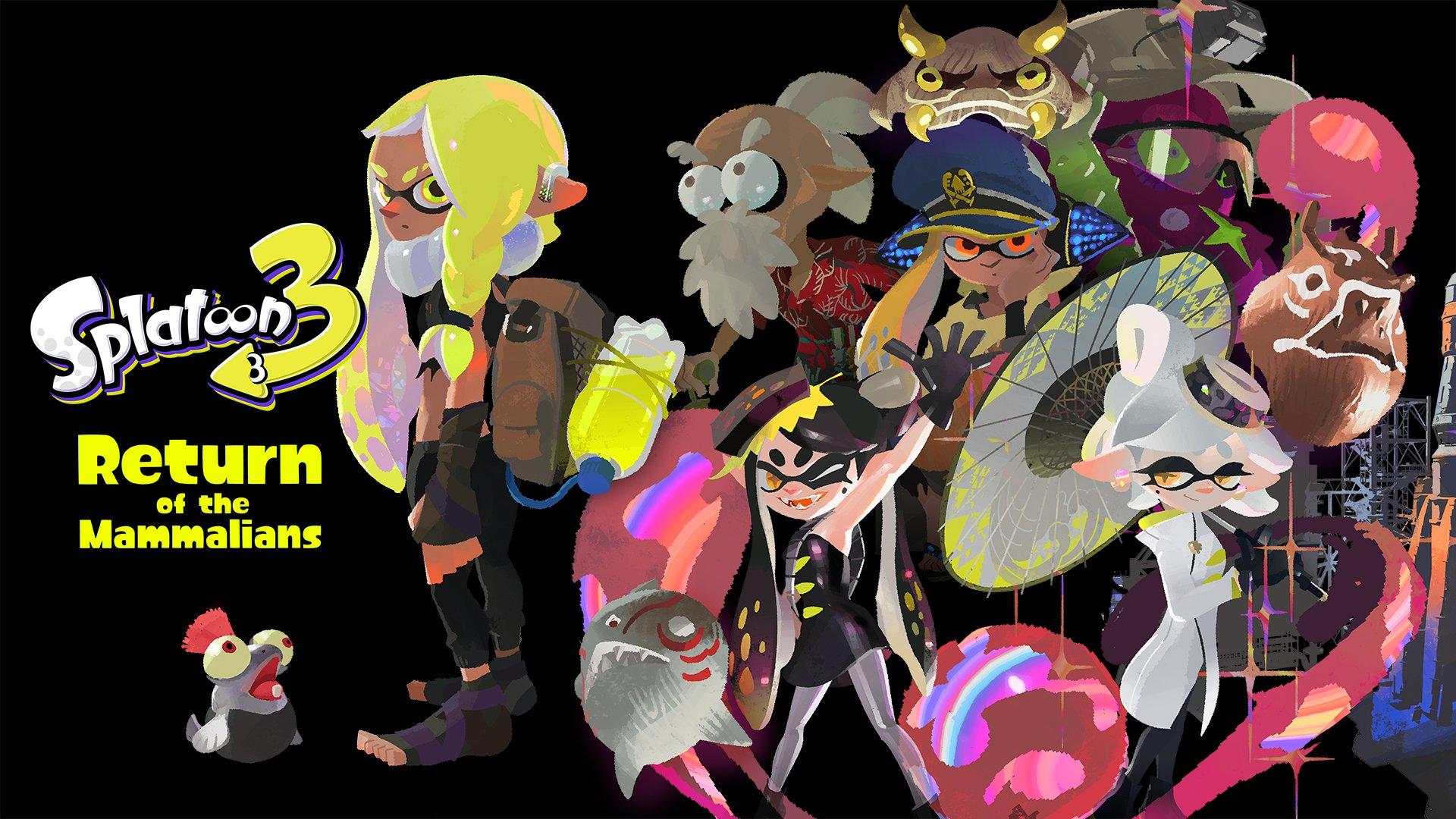 Nintendo Direct : Splatoon 3 de retour en vidéo et images inédites