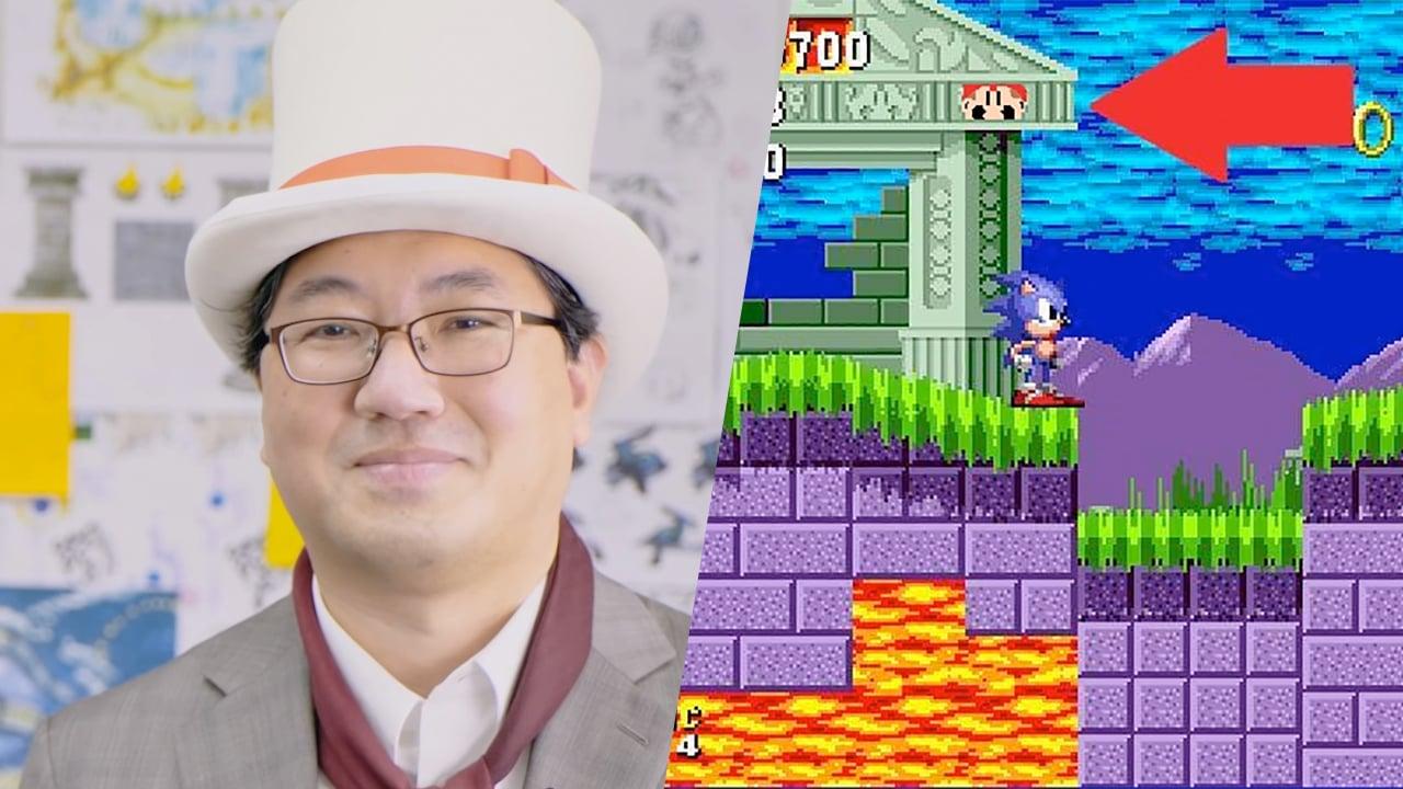 """Mario """"découvert"""" dans le premier Sonic sur Mega Drive ? Yuji Naka réagit"""