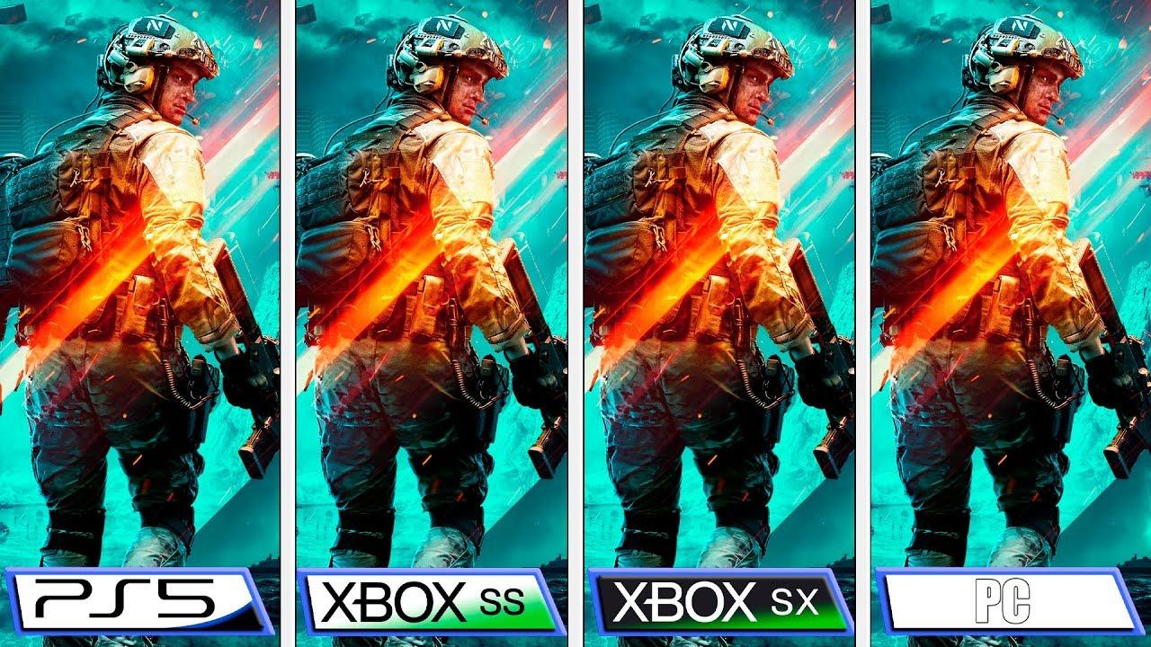 L'image du jour : BF 2042, le comparatif PS4/Pro, PS5, Xbox Series S/X et PC