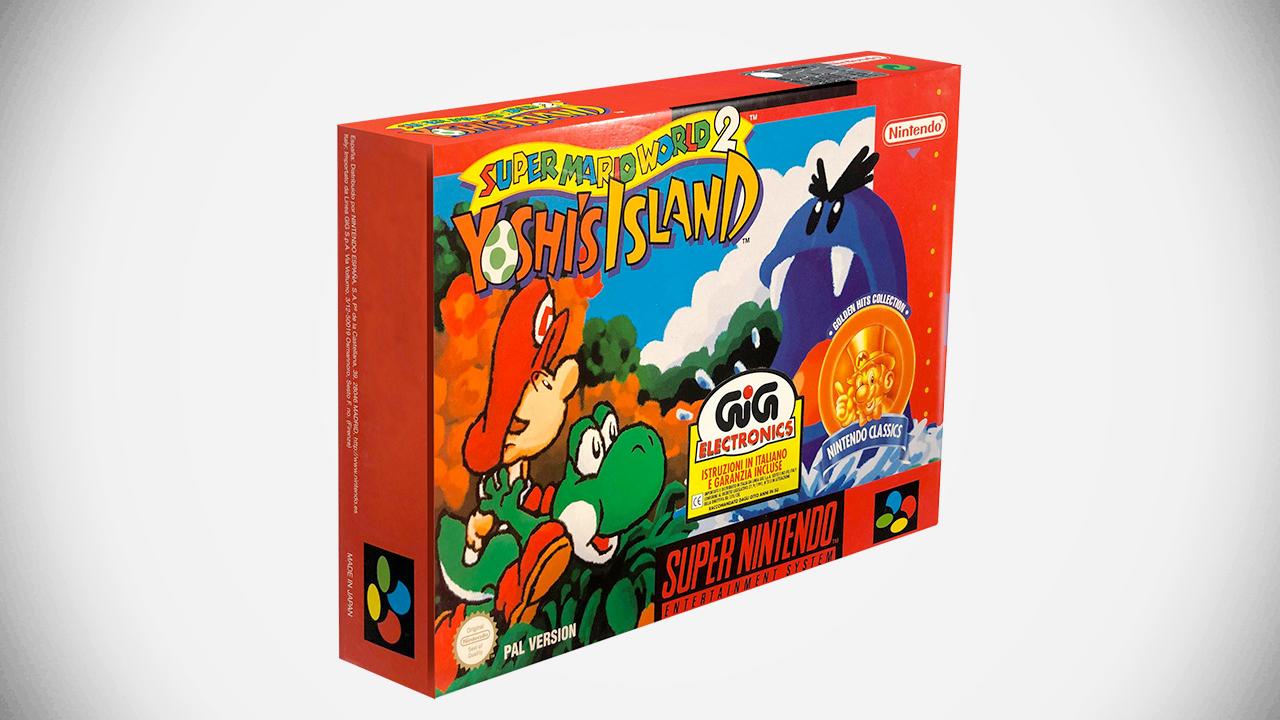 Super Nintendo : Une poignée de Yoshi's Island neufs mis en vente aujourd'hui, à une condition