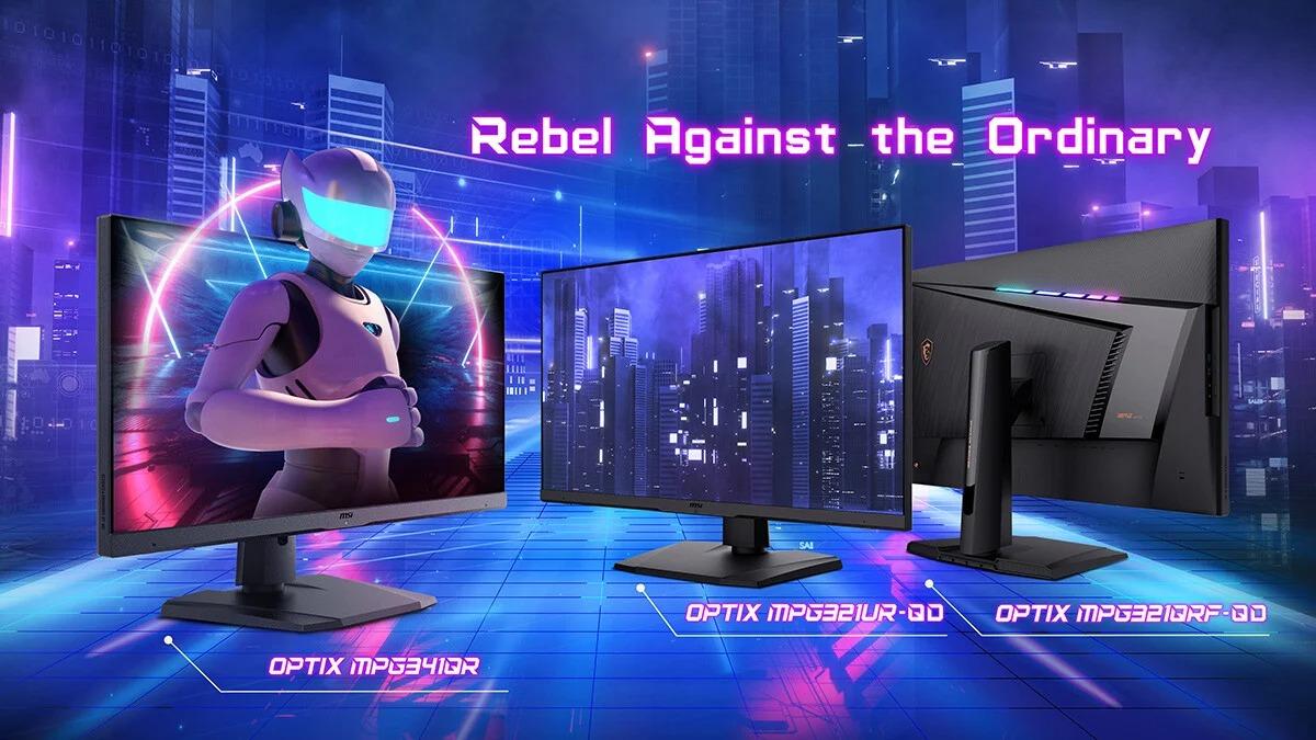 MSI présente trois nouveaux moniteurs Optix pour le gaming