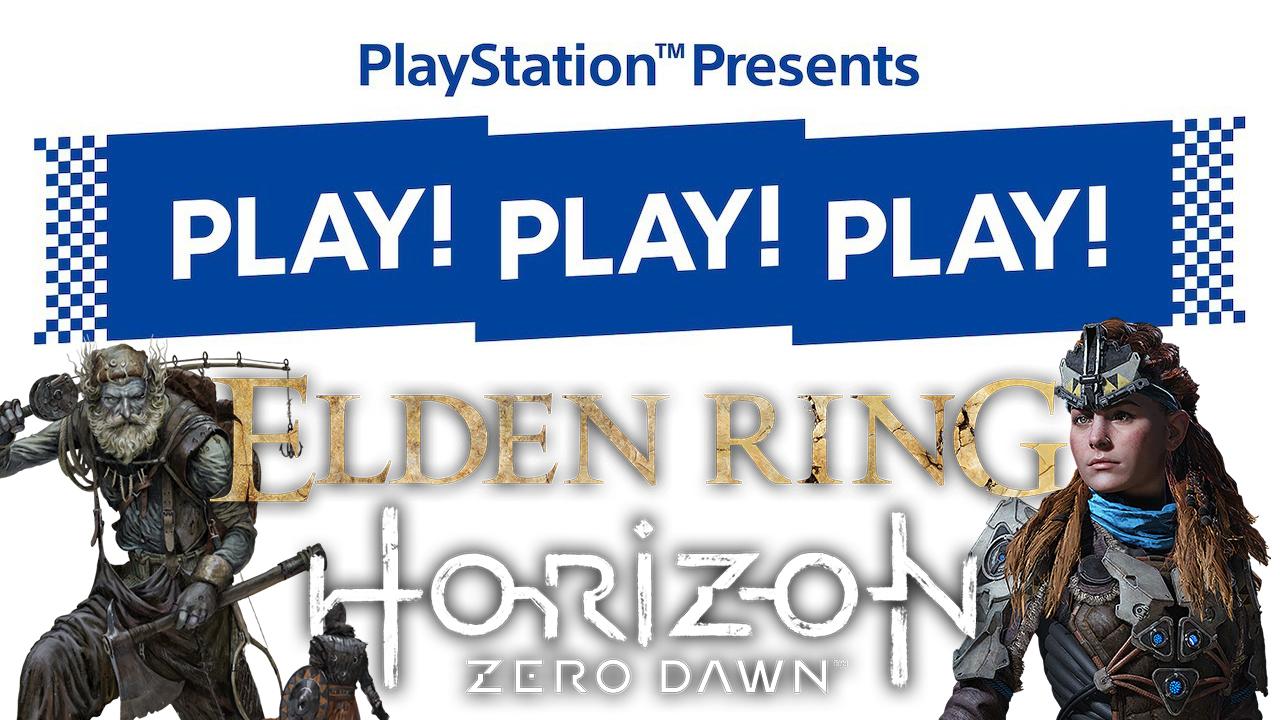 PS5 : Sony annonce un événement en direct avec Horizon Forbidden West et Elden Ring