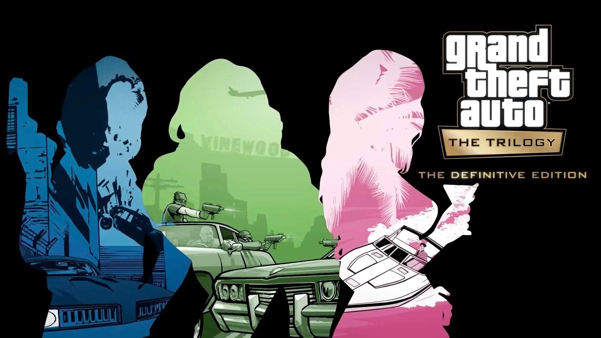 GTA The Trilogy Definitive Edition : Une date de sortie et une version boîte évoquées