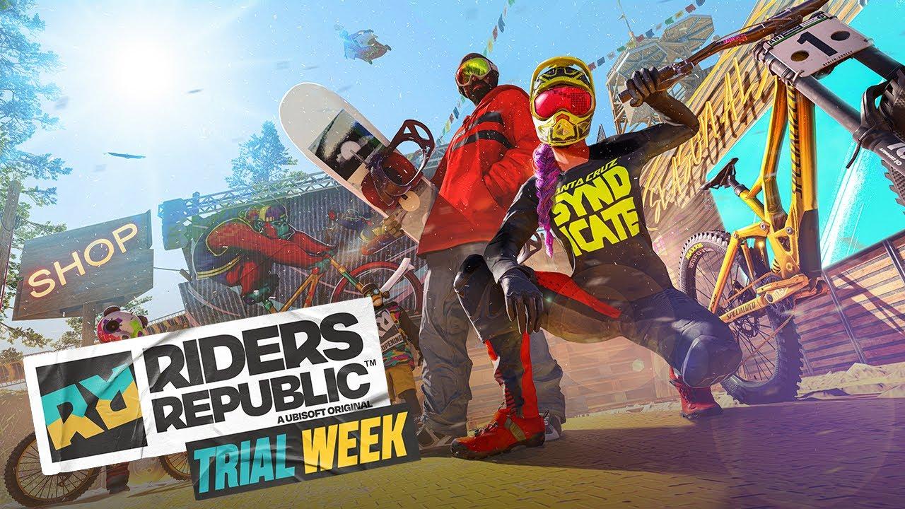 Riders Republic : Une semaine de gratuité à venir sur le jeu d'Ubisoft