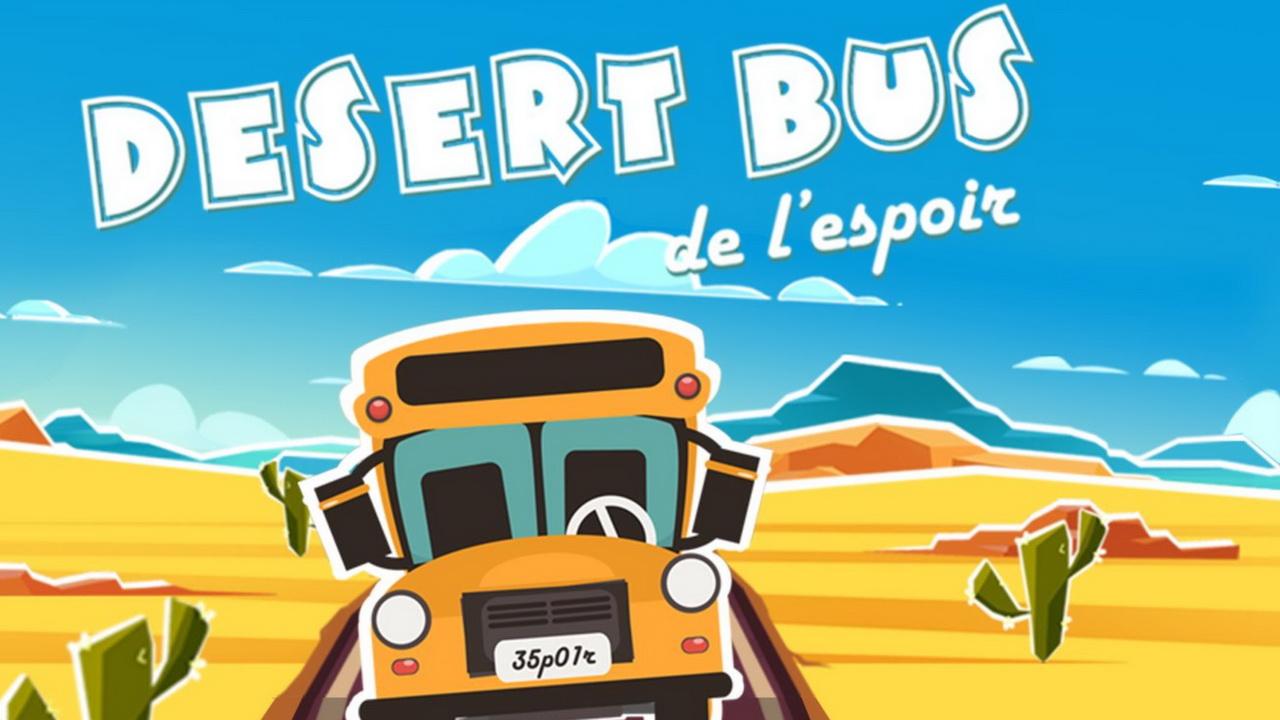 Desert Bus de l'Espoir : Le marathon caritatif revient en novembre