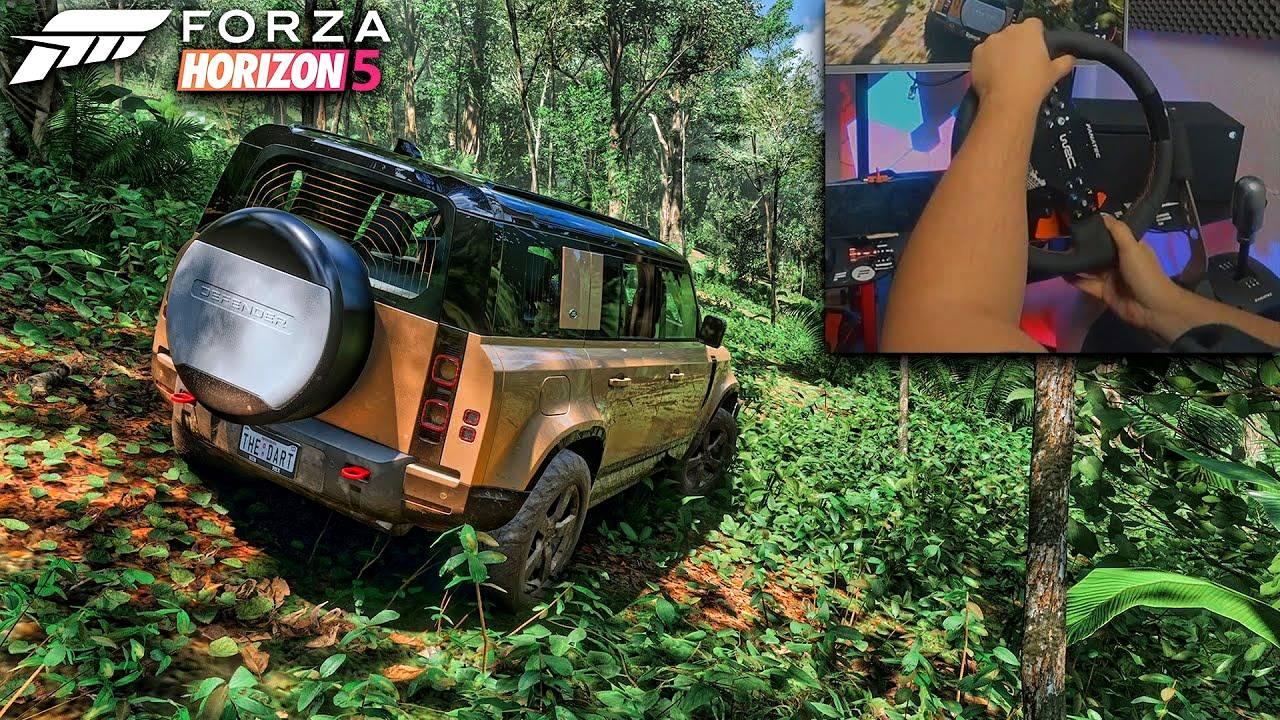 L'image du jour : Forza Horizon 5, la grosse claque graphique en forêt (Ray Tracing 4K)