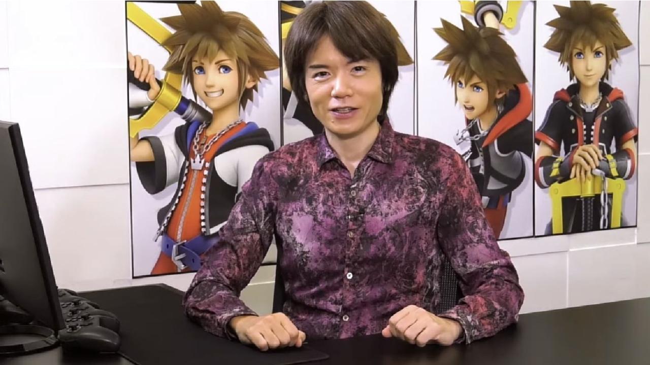Sakurai dévoile comment Sora a pu intégrer Super Smash Bros. Ultimate