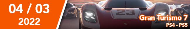 Grand Turismo 7 PS4 - PS5