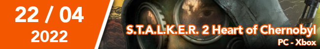 S.T.A.L.K.E.R. 2 Heart of Chernobyl PC - XBOX