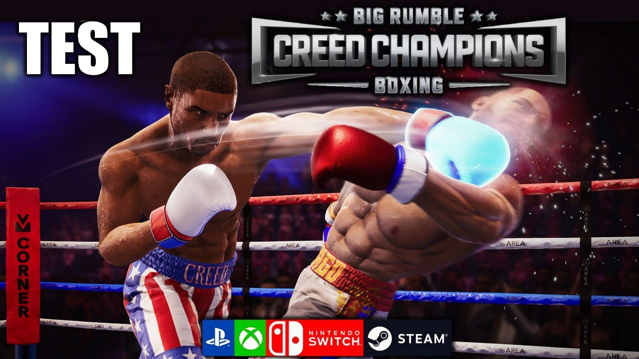 BIG RUMBLE BOXING Creed Champions : ADRIAAAN ! - TEST