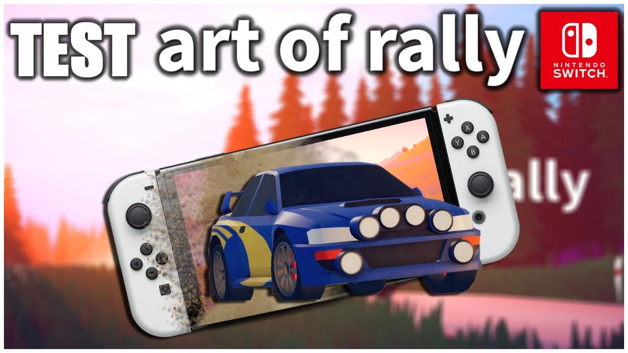 Art Of Rally en mode portable ça donne quoi ? (Nintendo Switch)