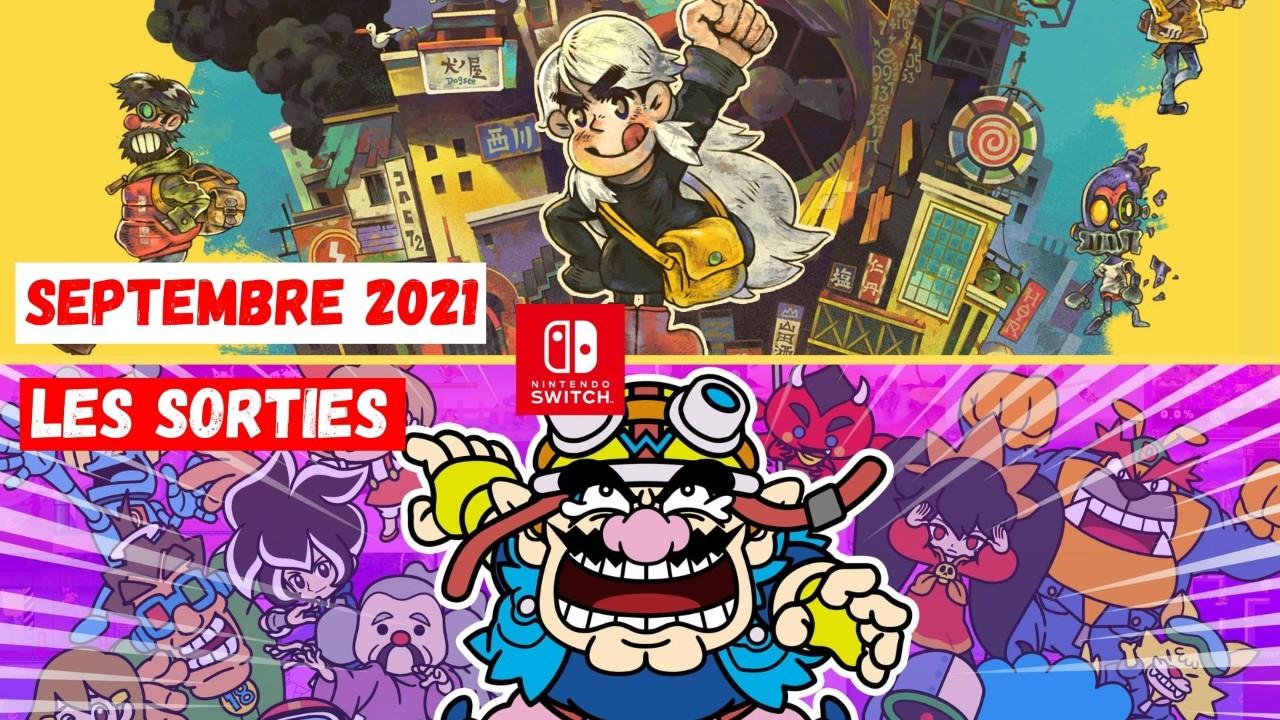 Le Calendrier des Sorties Nintendo Switch Septembre 2021