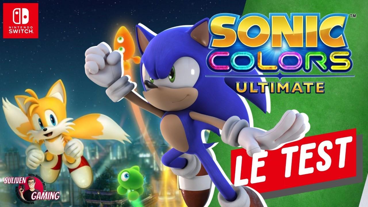 VIDEO TEST: Sonic Colours Ultimate sur Nintendo Switch ! Un bon Sonic 3D ?