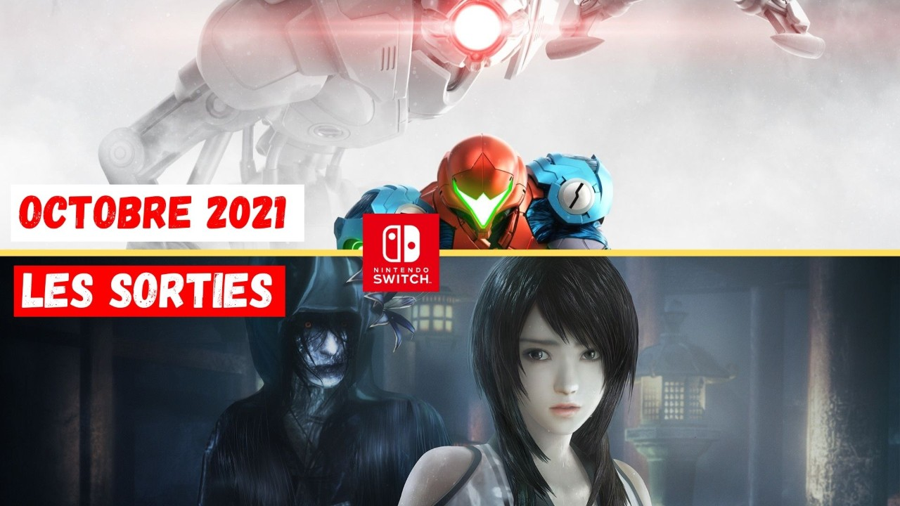 Le Calendrier des Sorties Nintendo Switch - Octobre 2021