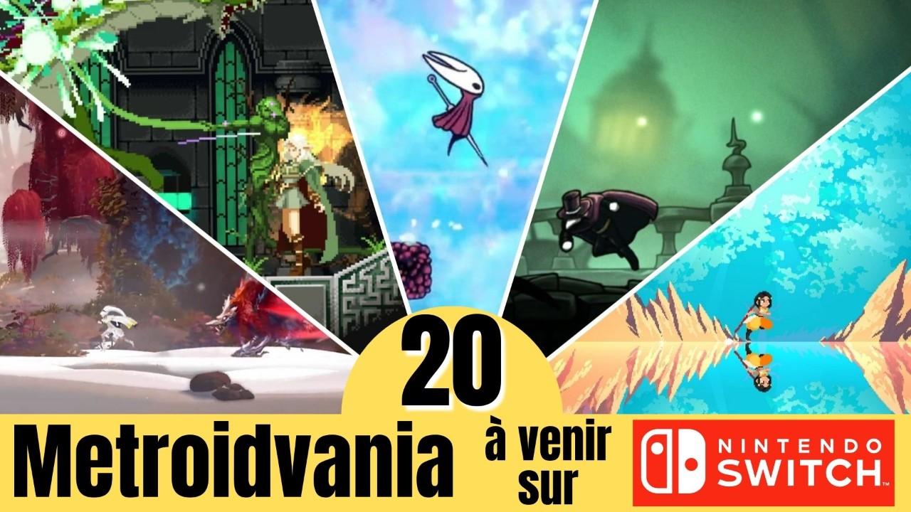 Les 20 plus gros Metroidvania à venir sur Nintendo Switch (fin 2021 - 2022)