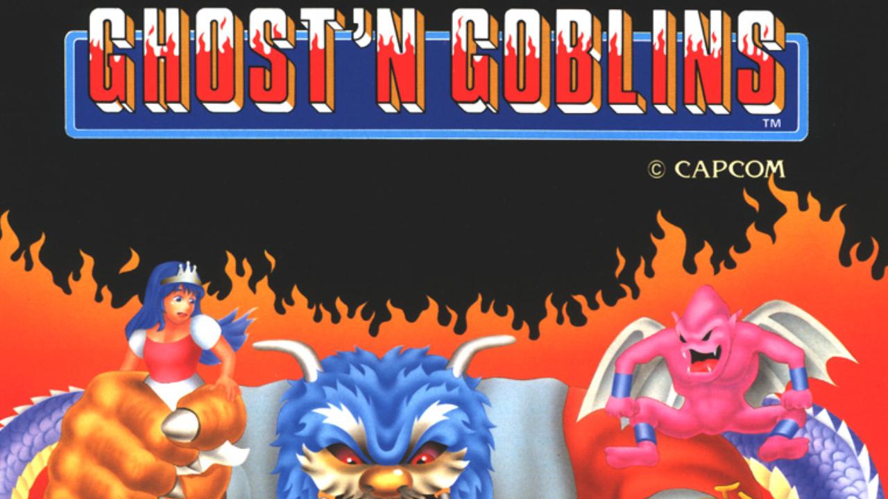 Ghosts 'n Goblins : toutes les conversions 8 et 16 bits.