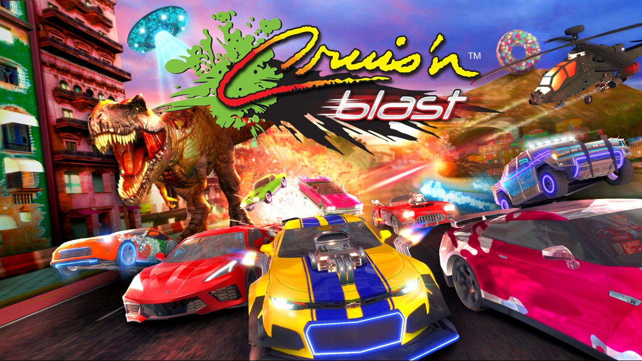 [Switch][ReWiiU] Cruis'N Blast - La course Arcade dans toute sa splendeur